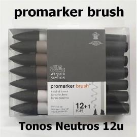 ProMarker Brush Tonos Neutros 12