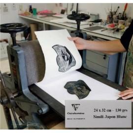 Papel Simil Japón 130gr 24x32cm