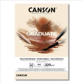 Bloc Graduate Mix Media Natural A4 Canson
