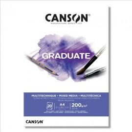 Bloc Graduate MixMediaB A4 Canson