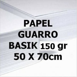 Papel BASIK 150g 50x70 GUARRO