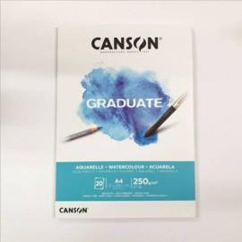 Bloc Graduate Acuarela A4 Canson