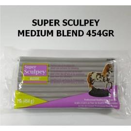 Super Sculpey Medium Blend 454gr