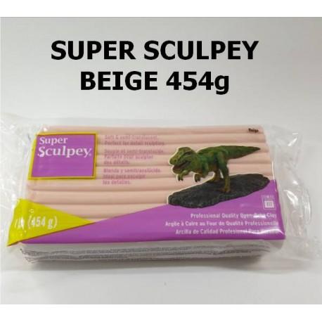 Super Sculpey Beige 454gr