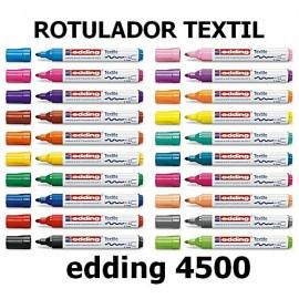 Rotulador textil 4500 Edding