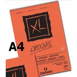 Bloc XL Croquis A4ap 90g 120hojas Canson