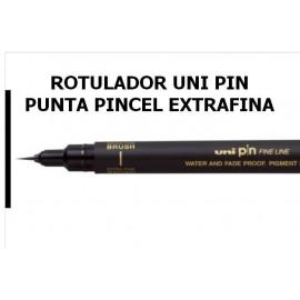 Rotulador Uni Pin Pincel Extrafino