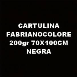 Cartulina Negra 70x100 Fabrianocolore